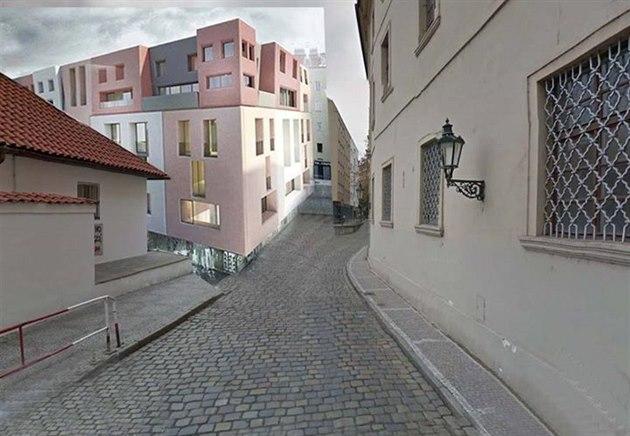 """Praha 1 – Proti developerskému projektu v ulici U Milosrdných (Nové Město) přezdívaný """"maršmeloun"""" vznikla petice"""