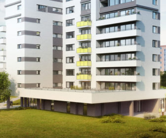 Novostavba Chytré bydlení CLB@Letňany prodej bytů Praha 9 - Letňany