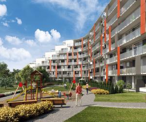 Novostavba Rezidence Palmovka prodej bytů Praha 8 - Libeň