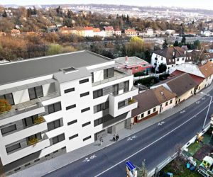 Rezidence Davídkova - Nové Byty Davídkova, Libeň, Praha 8