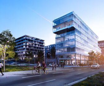Novostavba Rohan City prodej bytů Praha 8 - Karlín