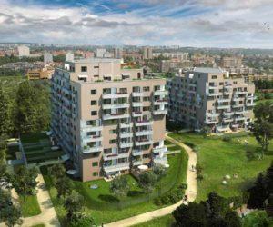 Novostavba Tulipa Třebešín prodej bytů Praha 3 - Strašnice