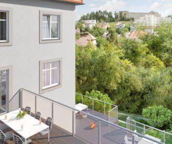 Novostavba Villa Doria prodej bytů Praha 8 - Libeň