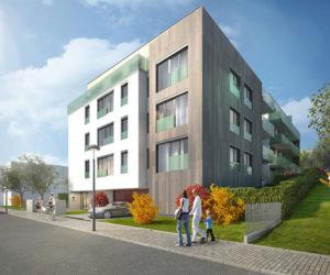 Nove byty Na Štěpánce