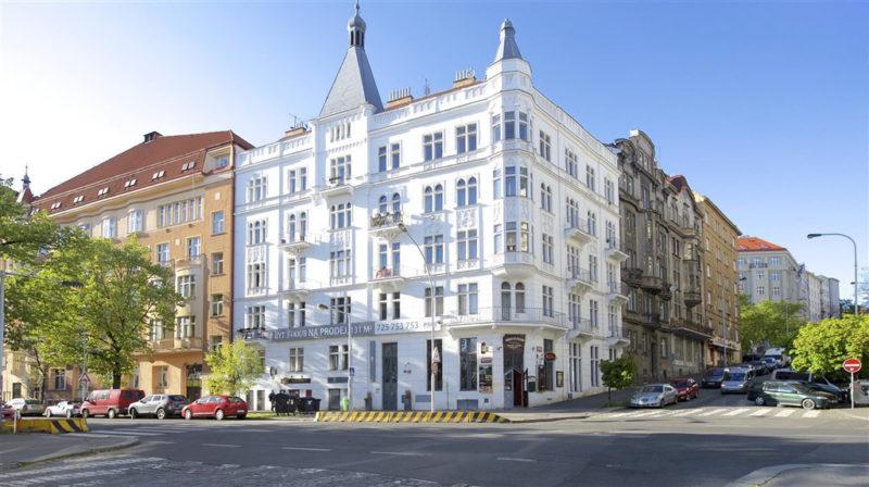 Novostavba Maison Blanche prodej bytů Praha 10 - Vršovice