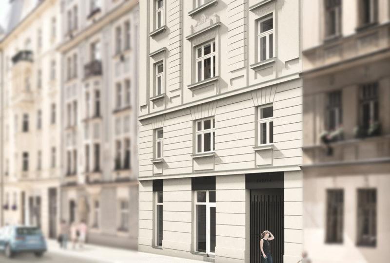 Novostavba Rezidence U sv. Václava prodej bytů Praha 10 - Vršovice
