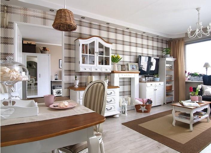 Vysněná renovace dvoupokojového bytu v provensálském stylu
