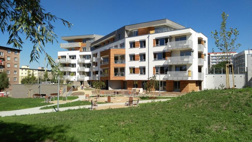Novostavba Park Hloubětín prodej bytů Praha 9 - Lehovec