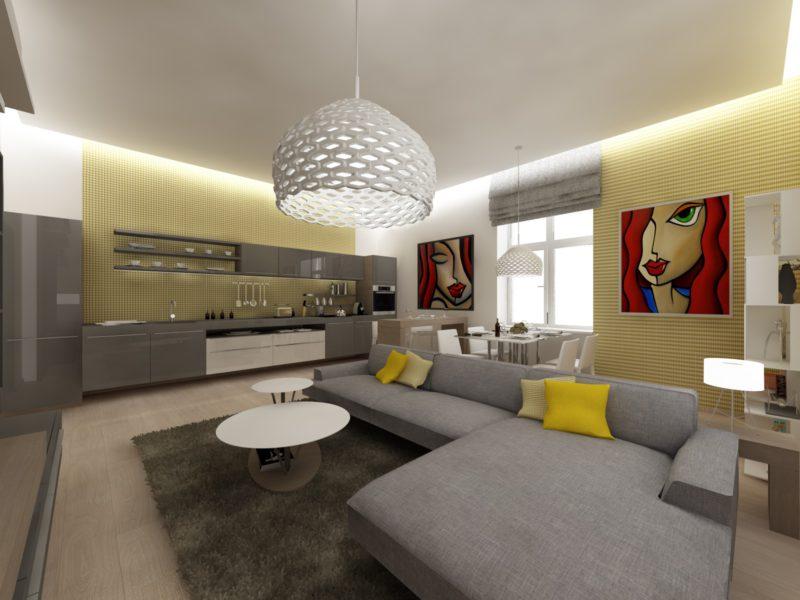 Novostavba Rezidence Palmovka (Heydukova) prodej bytů Praha 8 - Libeň