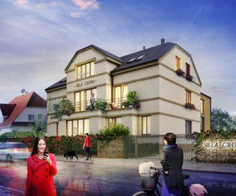 Novostavba Villa Crema prodej bytů Praha 4 - Chodov