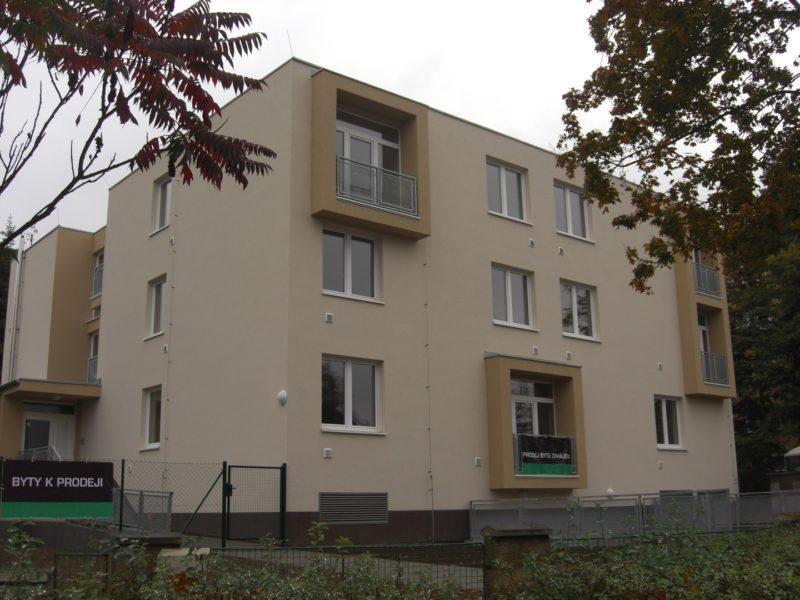 Novostavba Bytový dům Komořany prodej bytů Praha 4 - Komořany