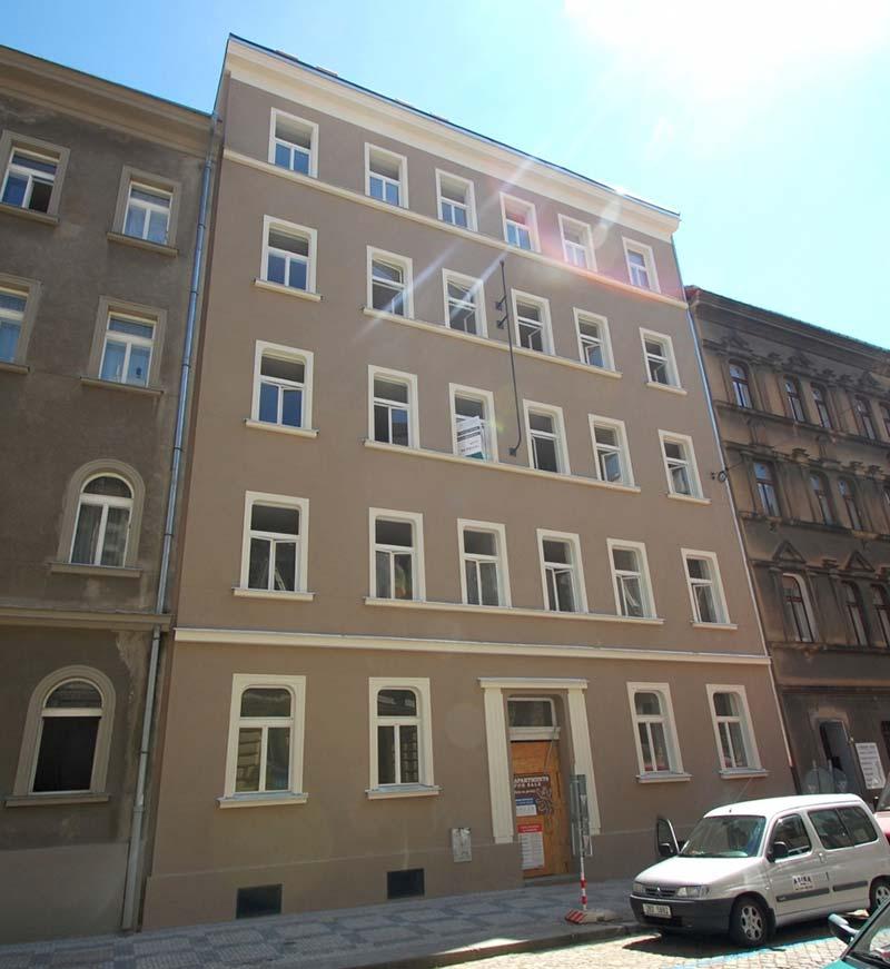 Novostavba Kamenická 14 prodej bytů Praha 7 - Holešovice