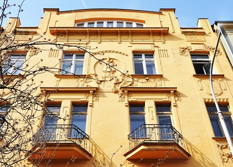 Novostavba Rezidence Lyčkovo náměstí prodej bytů Praha 8 - Karlín