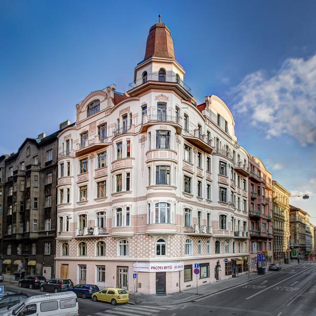 Novostavba Zborovská 6 prodej bytů Praha 5 - Smíchov