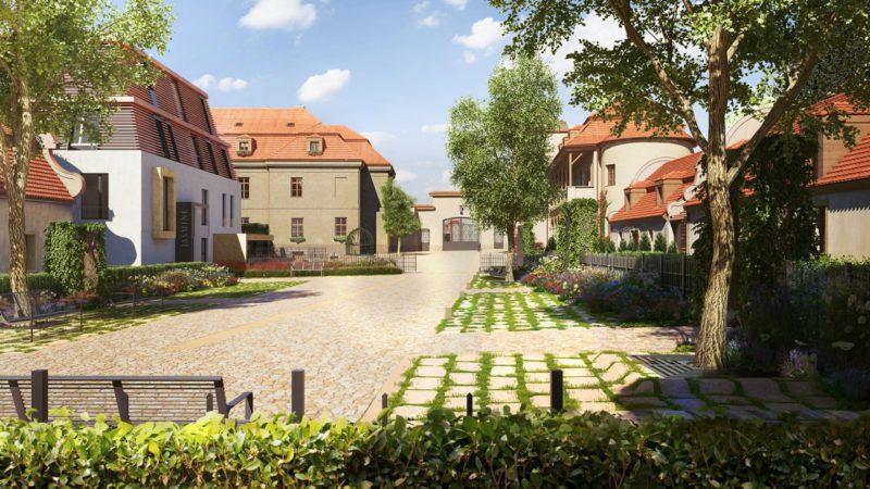 Novostavba Chateau Troja Residence prodej bytů Praha 7 - Troja