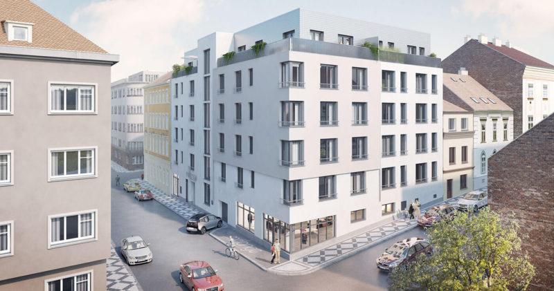 Novostavba Rezidence MÉLANGE prodej bytů Praha 5 - Smíchov