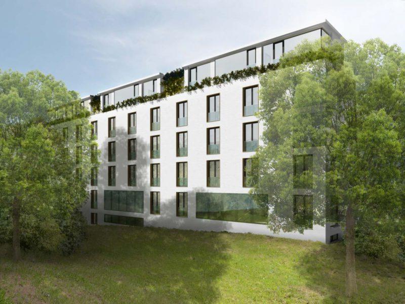 Novostavba Bytový dům Primátorská prodej bytů Praha 8 - Libeň