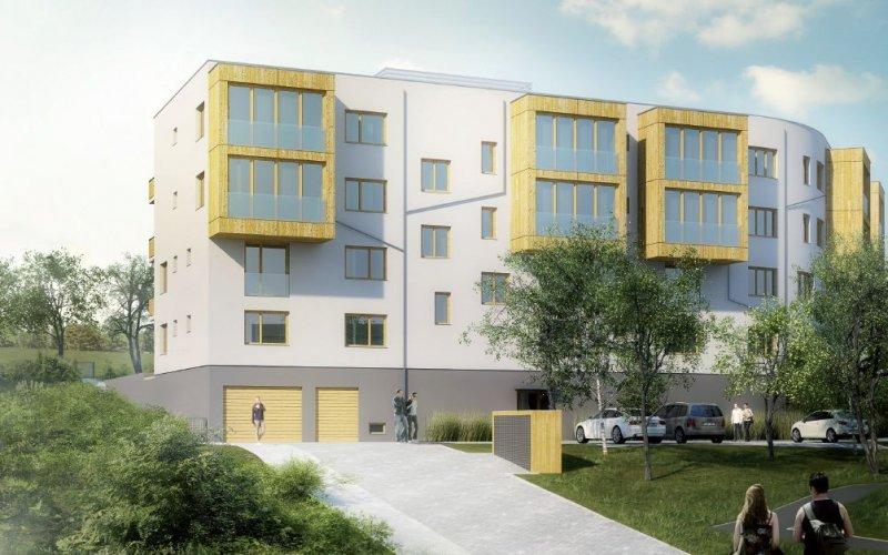 Novostavba Bytový dům Tetínská prodej bytů Praha 5 - Radlice
