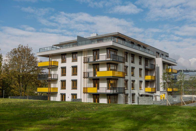 Novostavba Koti Green Motol prodej bytů Praha 5 - Motol