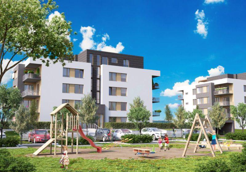 Novostavba Zátiší Rokytka prodej bytů Praha 9 - Vysočany