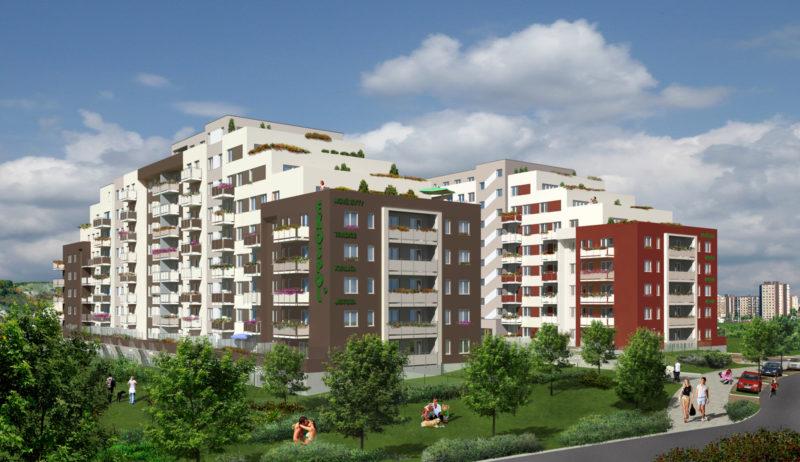 Novostavba Výhledy Barrandov prodej bytů Praha 5 - Barrandov