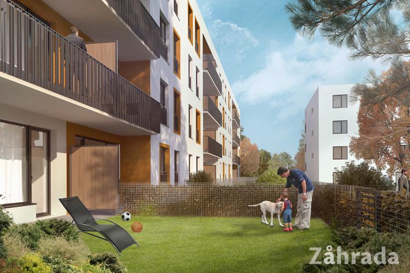 Novostavba Zåhrada To je život! prodej bytů Středočeský kraj - Lysá nad Labem