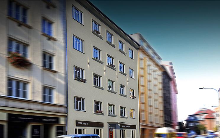 Novostavba Rezidence U Jezerky II prodej bytů Praha 4 - Nusle