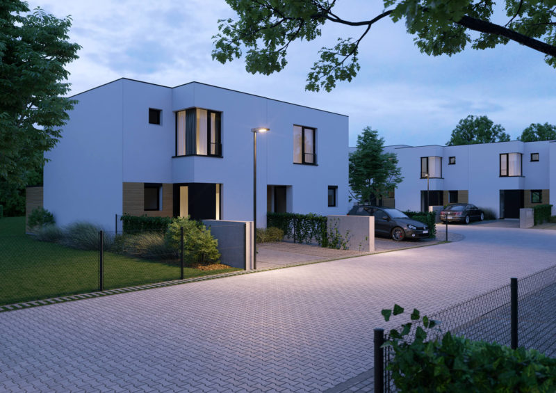 Novostavba Rodinné domy Jenštejn prodej bytů Praha-východ - Jenštejn