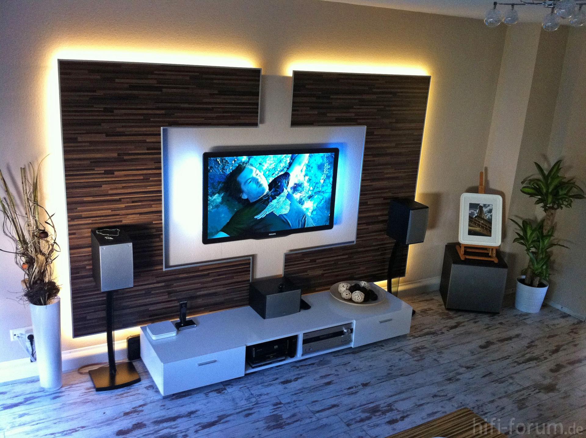 25 skvělých nápadů na TV stěny – inspirace TV stěna