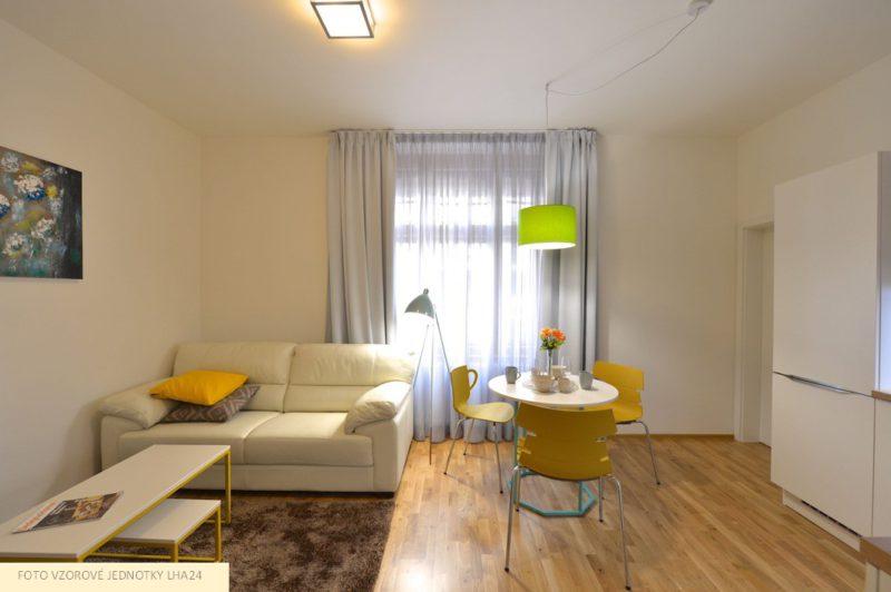 Novostavba Rezidence Esprit prodej bytů Praha 9 - Libeň