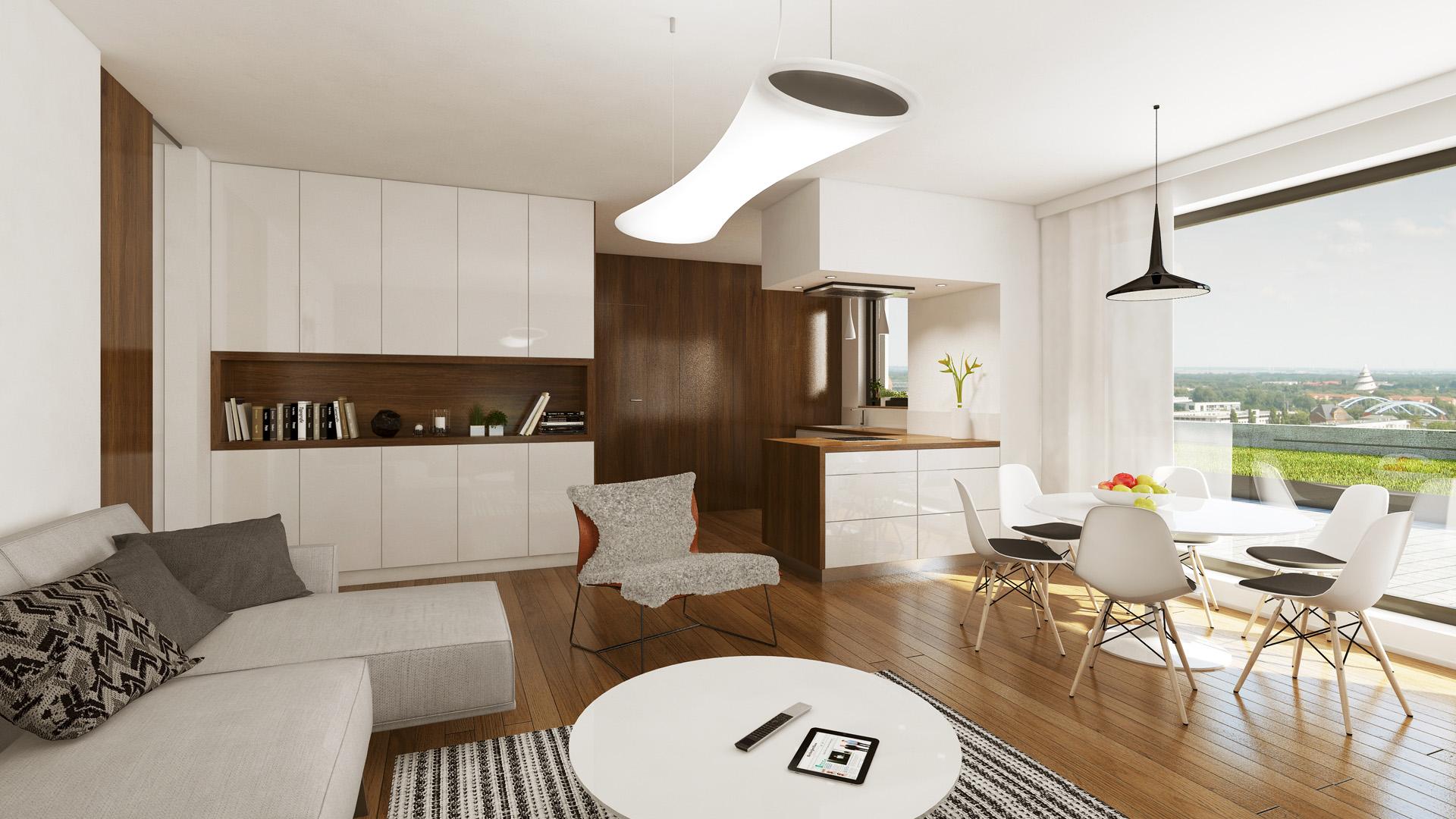 Trigema hlásí 80 % prodaných bytů Chytré bydlení JRM@Lužiny už na začátku stavby