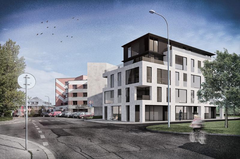 Novostavba Bytový dům Hostivař prodej bytů Praha 10 - Hostivař