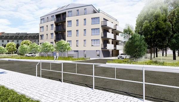 Bytový dům Suchdolské náměstí - zahájení stavebního řízení