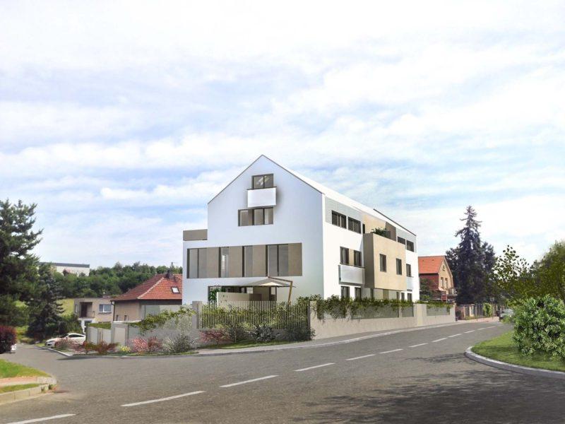 Novostavba Rezidence Žalanského prodej bytů Praha 6 - Řepy