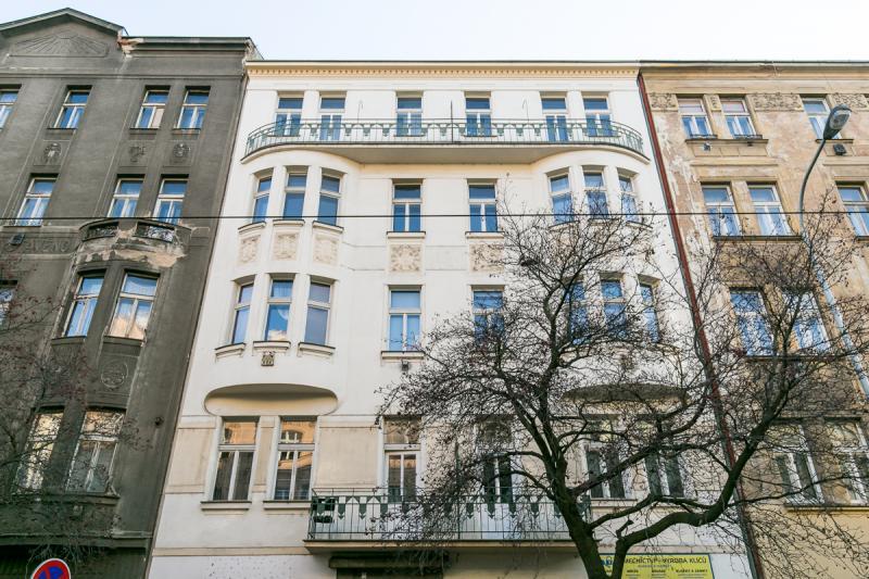 Novostavba Rezidence Jaromírova prodej bytů Praha 2 - Nusle