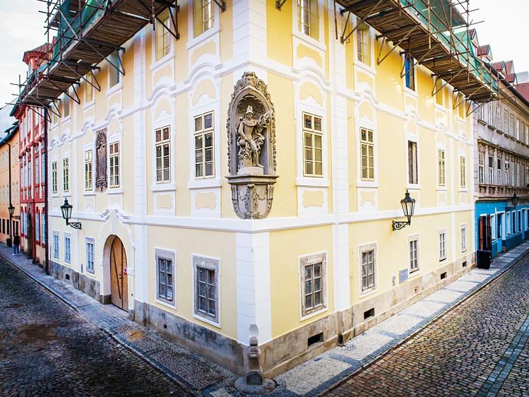 Novostavba Rezidence Nosticova prodej bytů Praha 1 - Malá Strana
