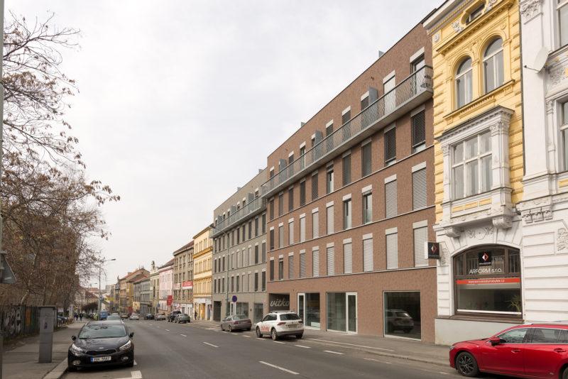 Novostavba Rezidence Vítkovka prodej bytů Praha 3 - Žižkov
