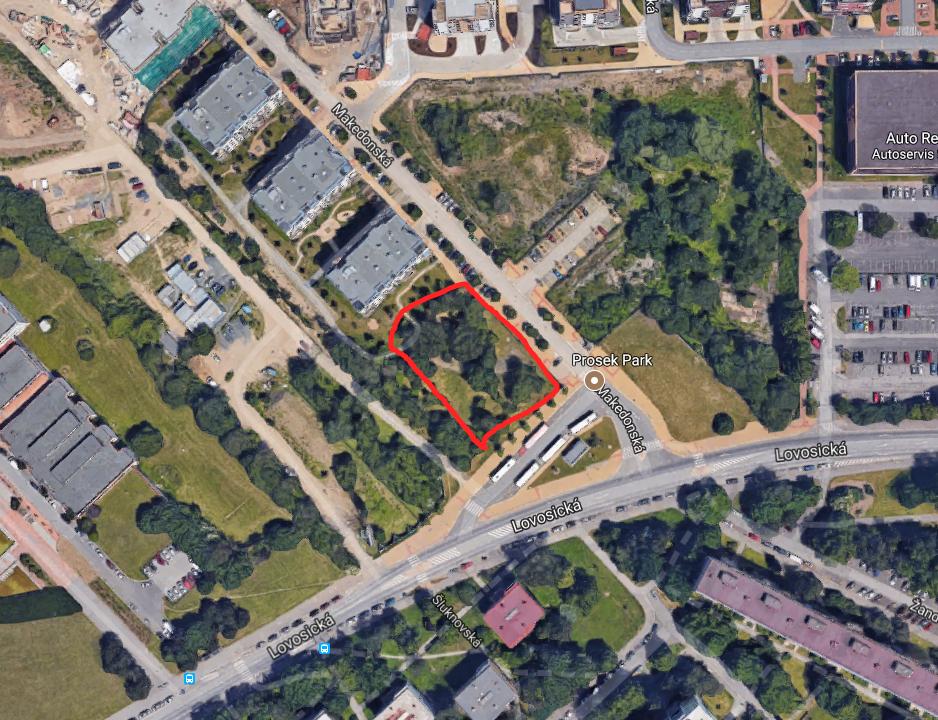 Novostavba Prosek Park X prodej bytů Praha 9 - Střížkov