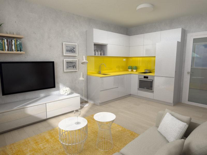 Novostavba Strančická Apartments prodej bytů Praha 10 - Strašnice