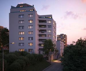 Nove byty Praha 9 – Skanska zahájila prodej 111 nových bytů (Jahodnice H) na Praze 14 v Hostavicích