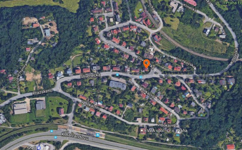 Novostavba Rezidence Slivenecká prodej bytů Praha 5 - Hlubočepy