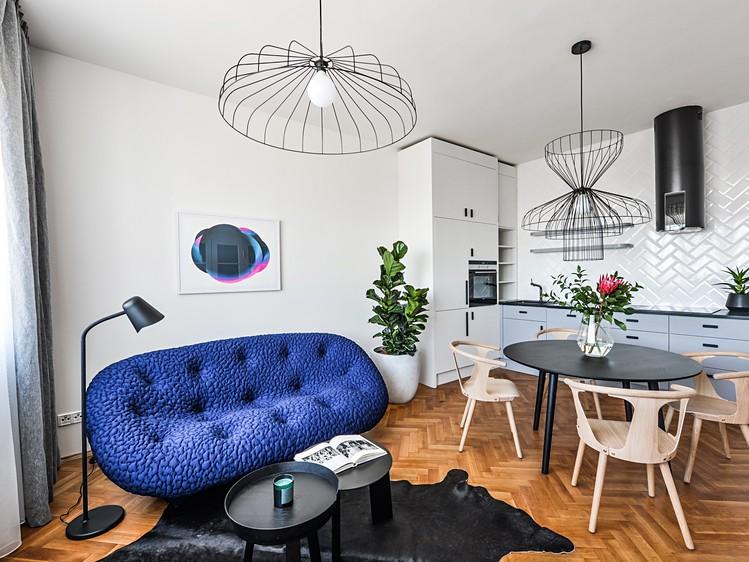 Novostavba Rezidence Florian prodej bytů Praha 3 - Vinohrady
