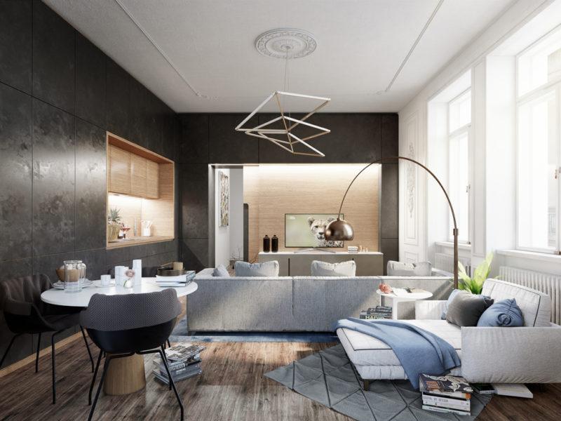Novostavba Louis Léger House prodej bytů Praha 2 - Nové Město