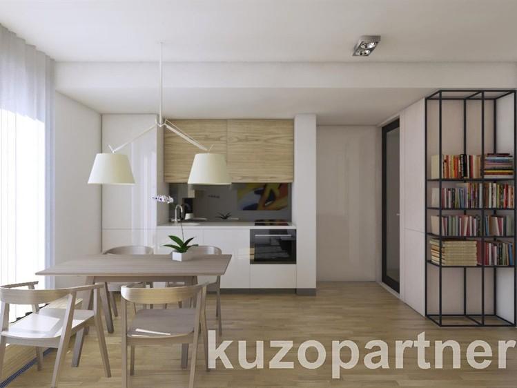 Novostavba Park rezidence Klamovka prodej bytů Praha 5 - Smíchov