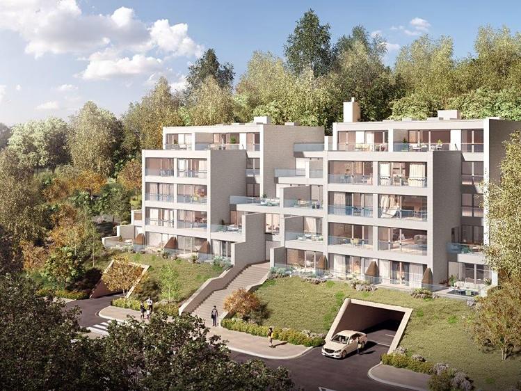 Novostavba Rezidence Božínka prodej bytů Praha 5 - Košíře
