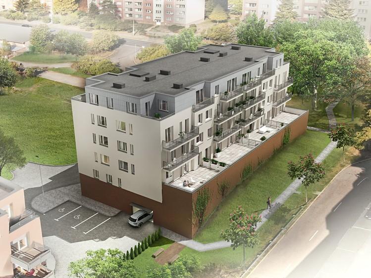 Novostavba LV Residence prodej bytů Praha 10 - Záběhlice