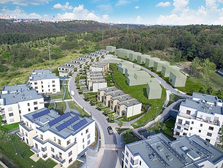 Novostavba Zelené Modřany prodej bytů Praha 4 - Modřany