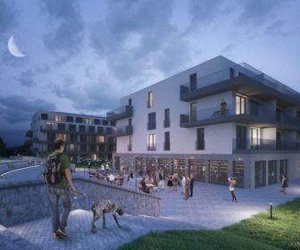 Novostavba Velvaria Residence prodej bytů Praha-západ - Horoměřice