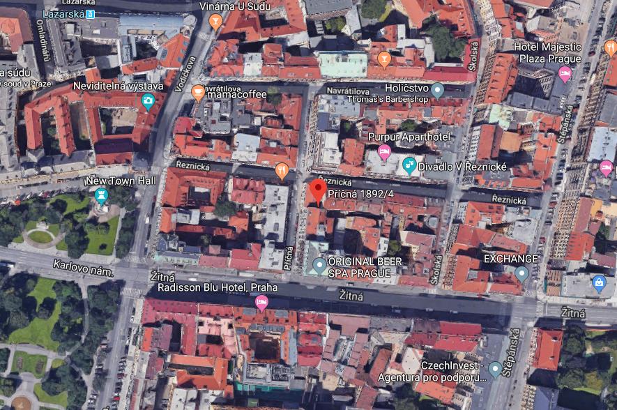 Novostavba Ferdinand Palace prodej bytů Praha 1 - Nové Město