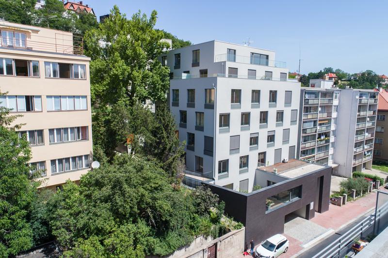 Novostavba Rezidence Palata prodej bytů Praha 5 - Smíchov